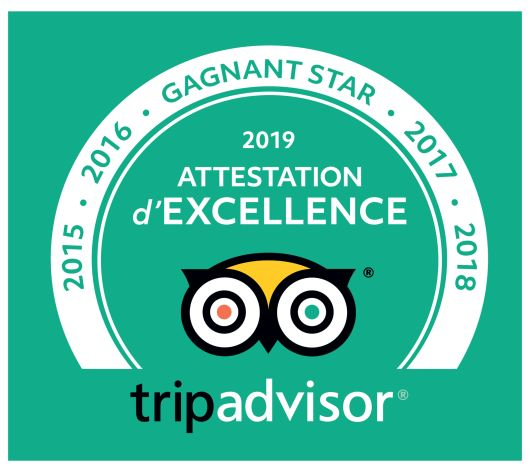 Attestation TripAdvisor 2019