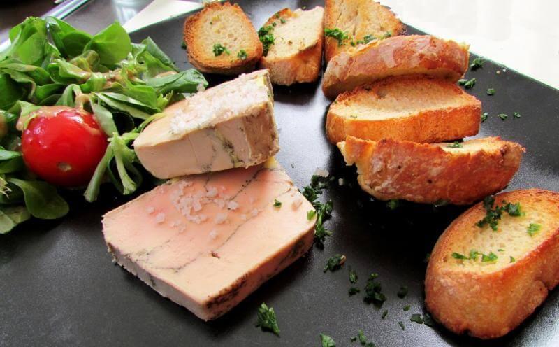 Homemade Terrine de foie gras