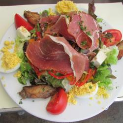 Salade du vendangeur